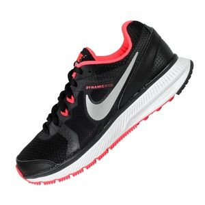 Nike Zoom Winflo Pink Black Running Trainers Shoes